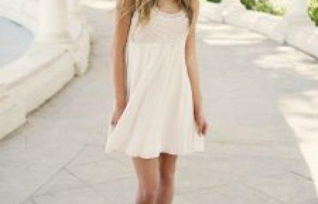 משנים מוסכמות עם שמלות קצרות לערב